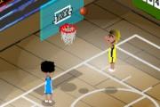 2 spelers Basketbal