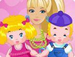 Barbie Twins Sitter