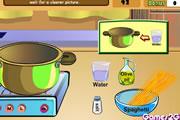 Cooking Show Tuna and Spaghetti