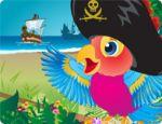 Jolly Roger Parrot