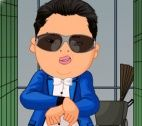 Psy jurk Gangnam stijl