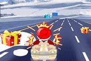 Santa Car Driving