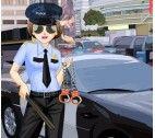 Vrouwelijke politie